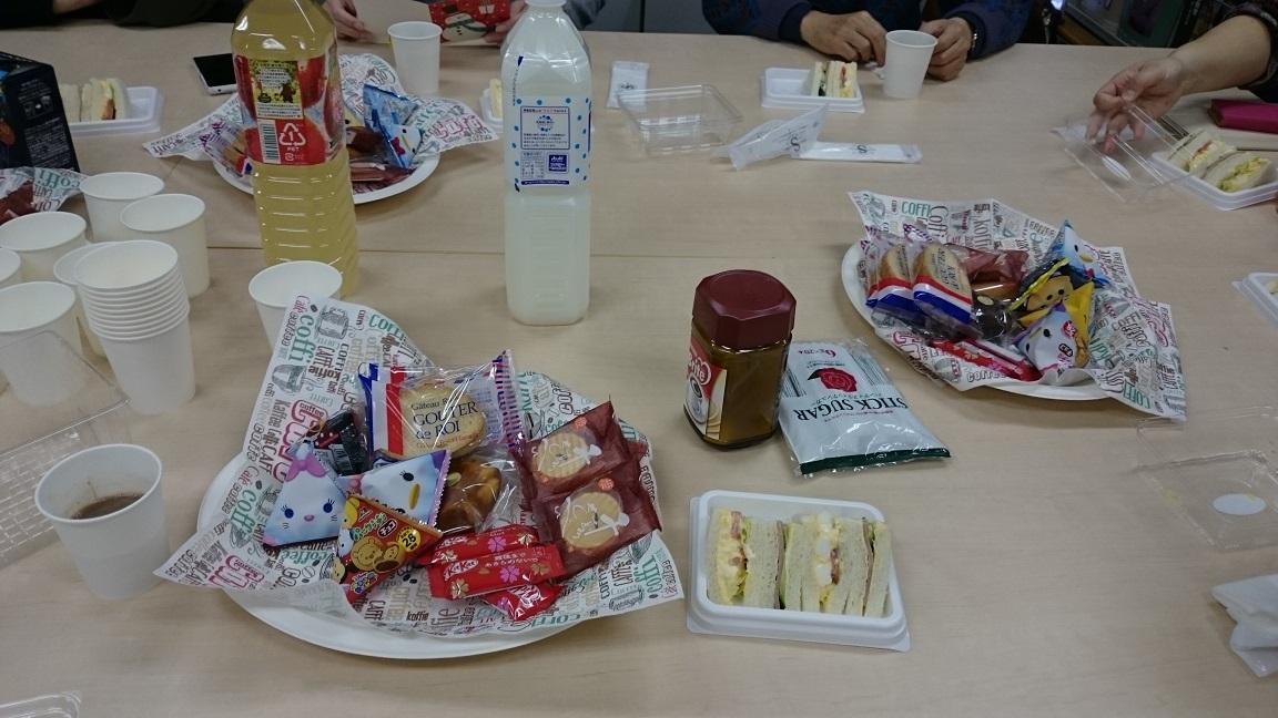 年末お茶会の報告(12月26日発送ボランティアの様子)